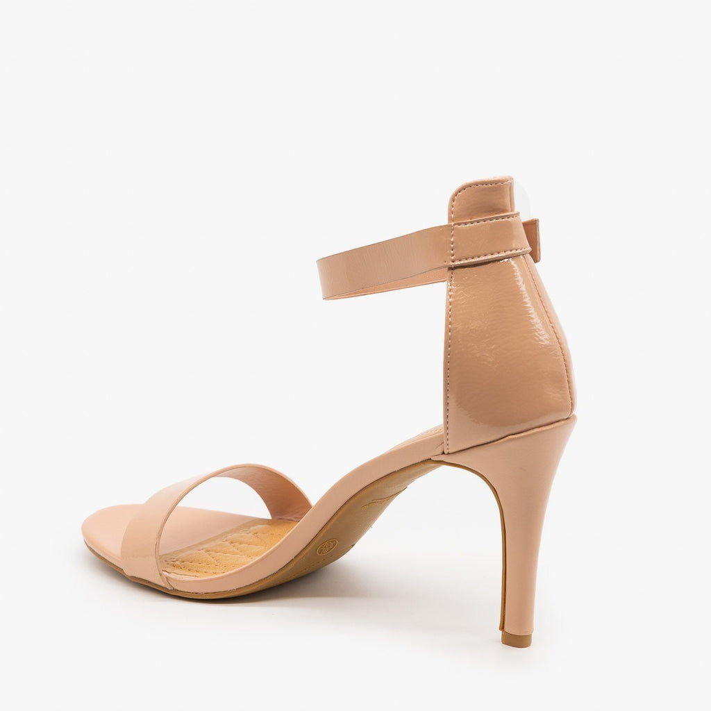 Womens Date Night Ankle Strap Heels - Anne Michelle