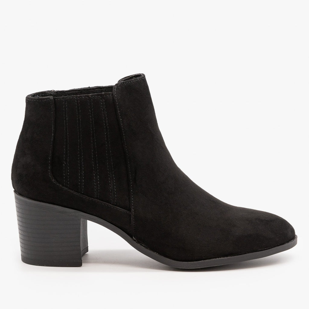 Womens Diva Ankle Booties - Qupid Shoes
