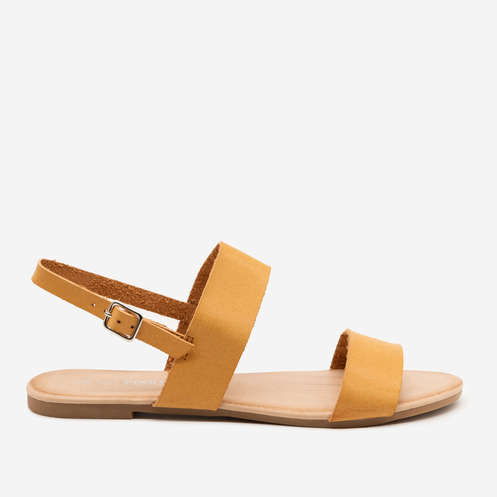 Women's Double Strap Sling-back Sandal - Via Pinky