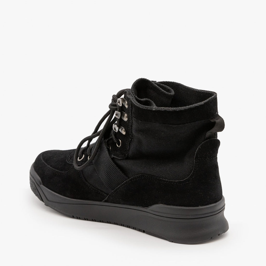 Womens Edgy Fashion Sneakers - Forever