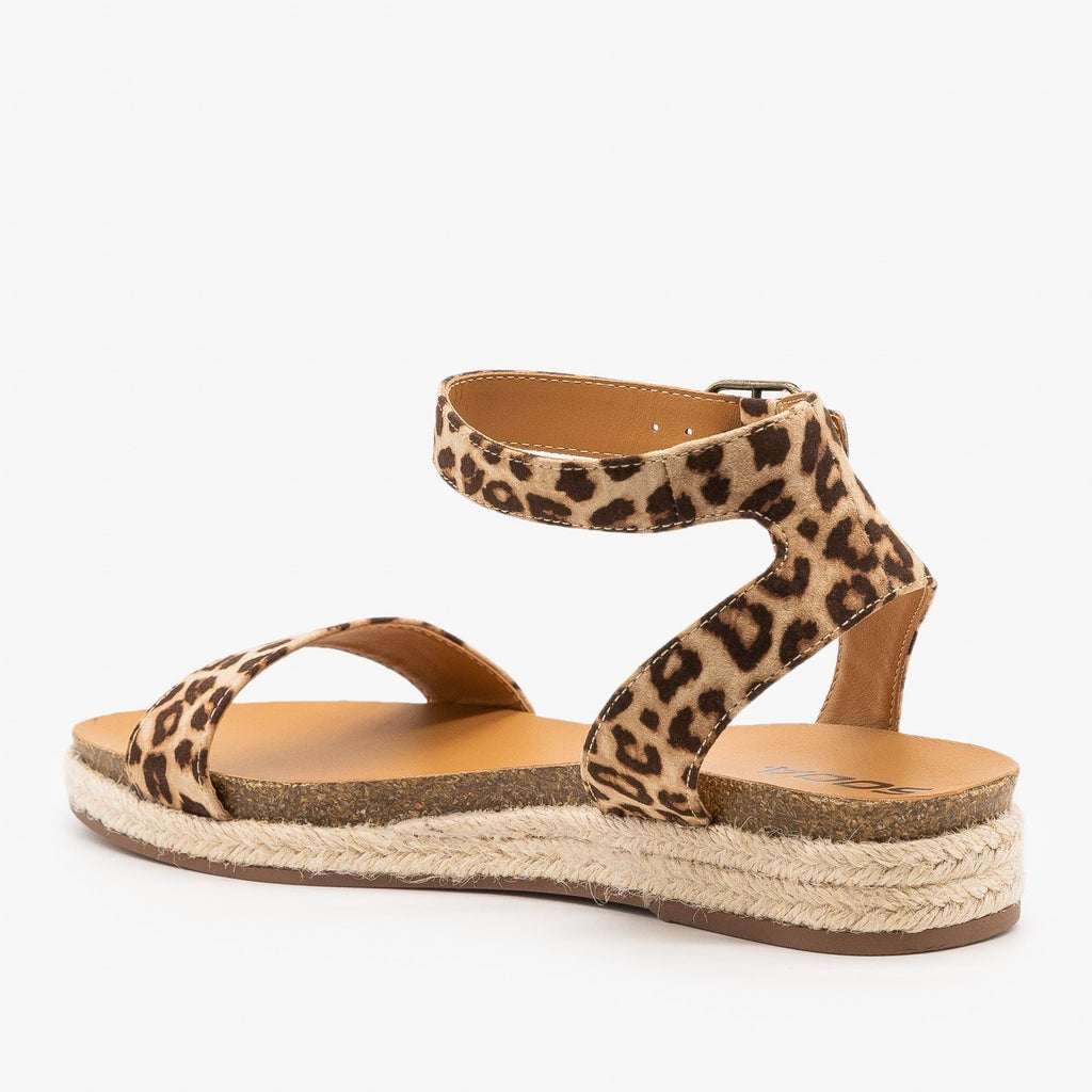 Womens Espadrille Sandal Wedges - City Classified Shoes