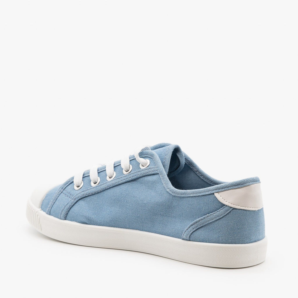 Womens Essential Colorful Sneakers - Top Moda