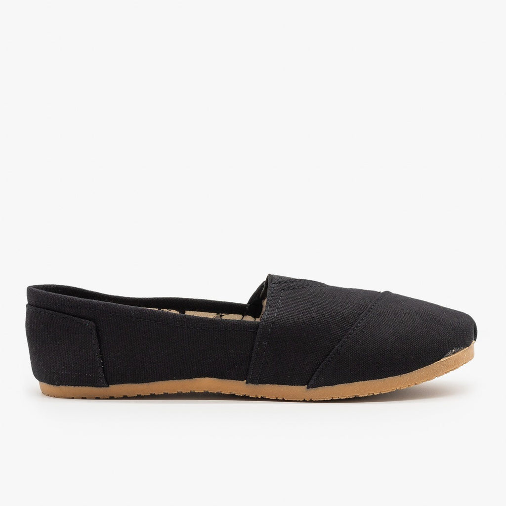 Womens Everyday Canvas Slip-On Flats - Refresh