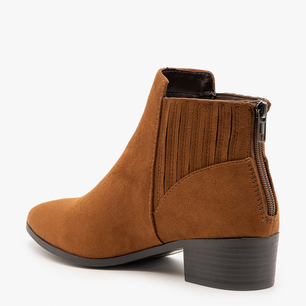 Womens Fashion Forward Ankle Booties - City Classified Shoes