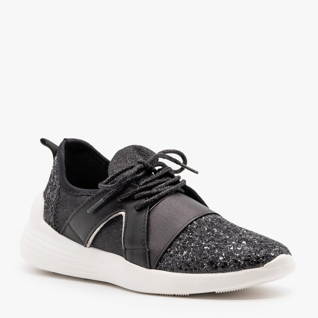 Womens Glitter Athletic Sneakers - Forever