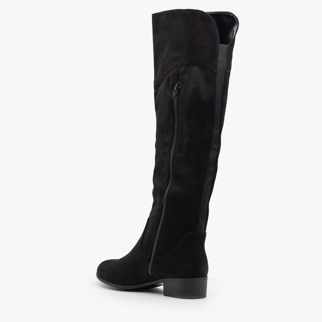 Womens Gorgeous Knee High Boots - Soda Shoes