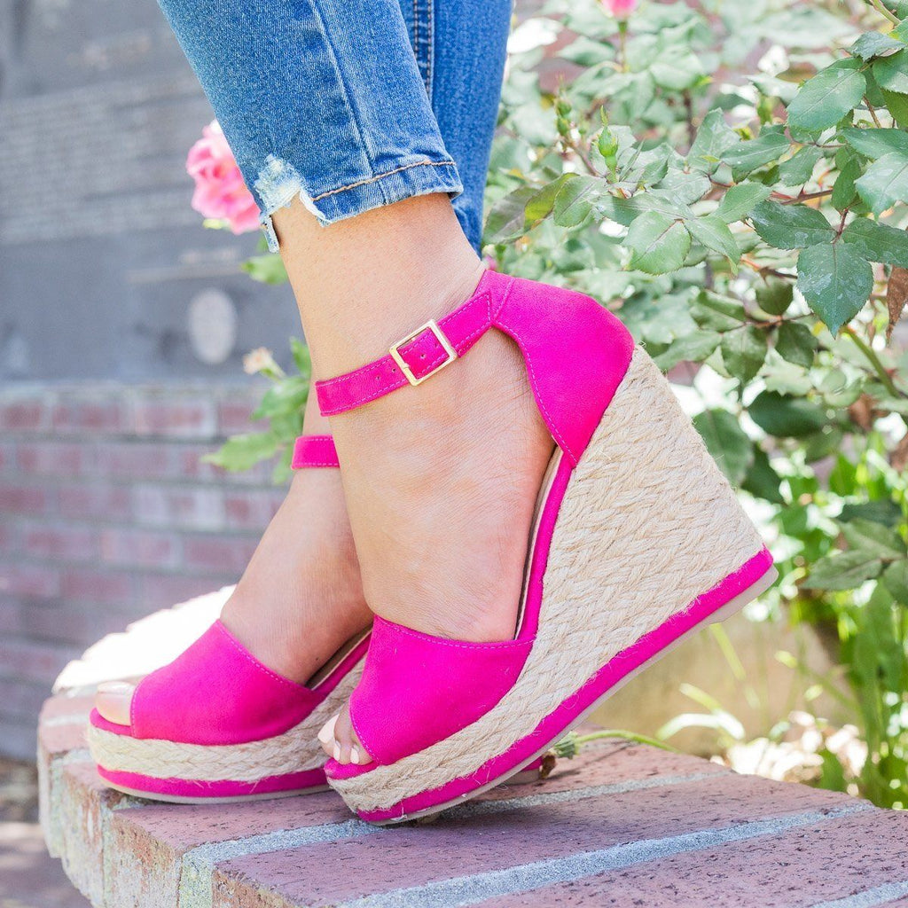 Womens Hot Summer Espadrille Wedges - Beast Shoes