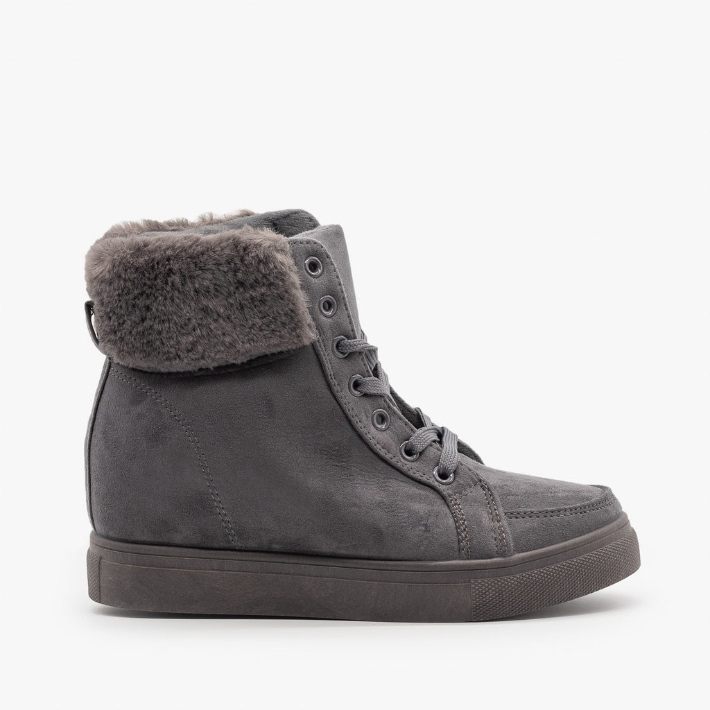 Womens Lace-Up Winter Boots - Refresh