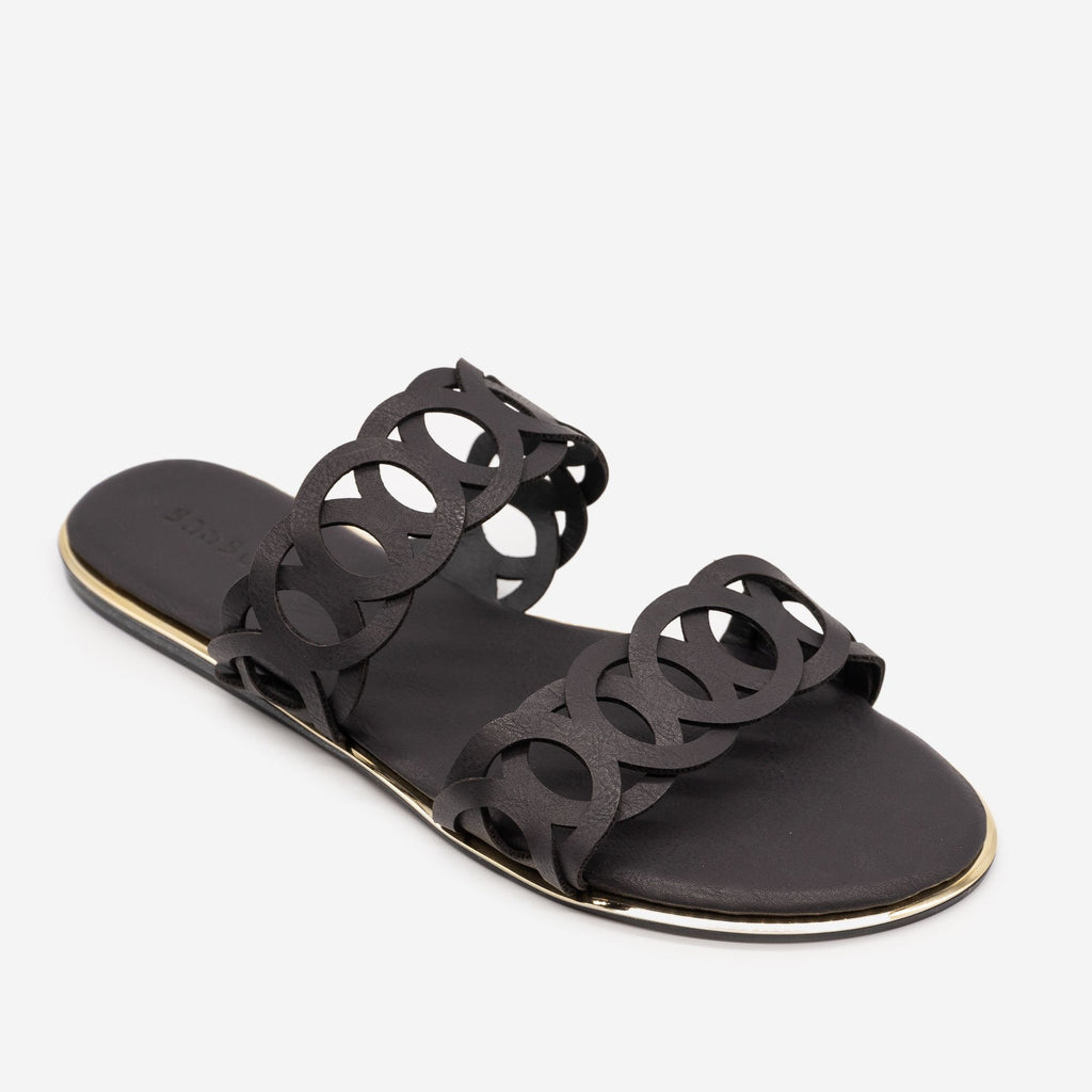 Women's Looped Double Band Sandals - Bamboo Shoes