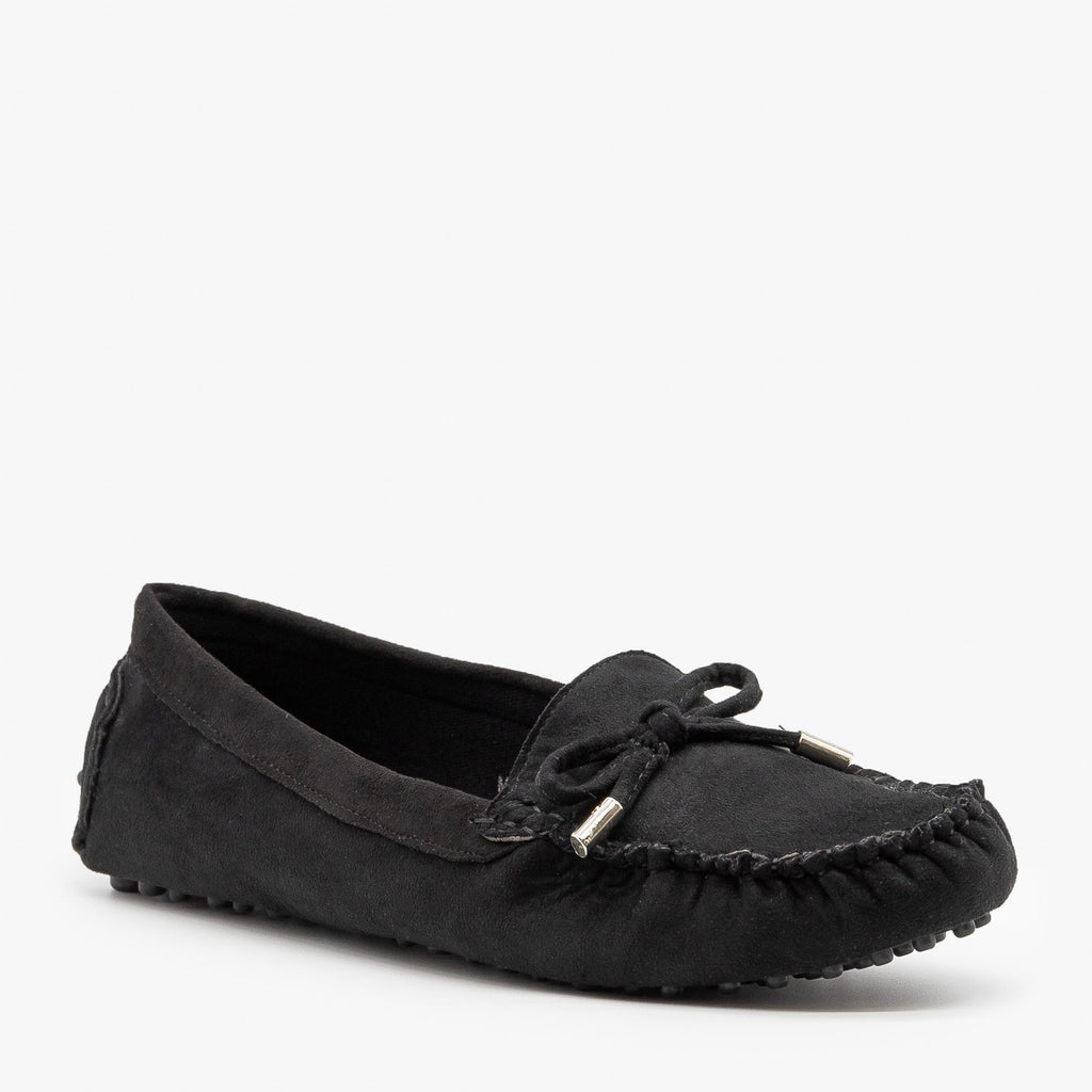 Womens Lovely Classic Loafer Flats - Bella Marie