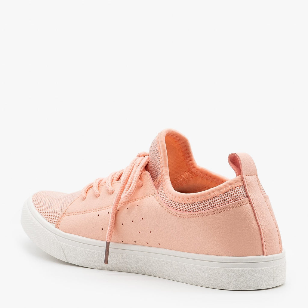 Womens Mesh Athleisure Sneakers - Forever