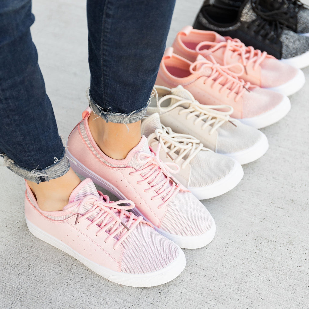 Women's Mesh Athleisure Sneakers - Forever