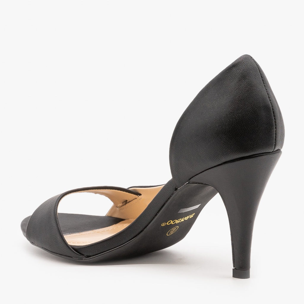 Womens Modern Minimalist Pumps - Bamboo Shoes