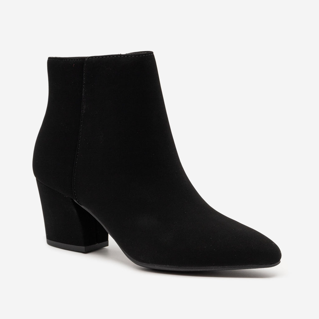 Women's Modern Pointed Bootie - Soda Shoes