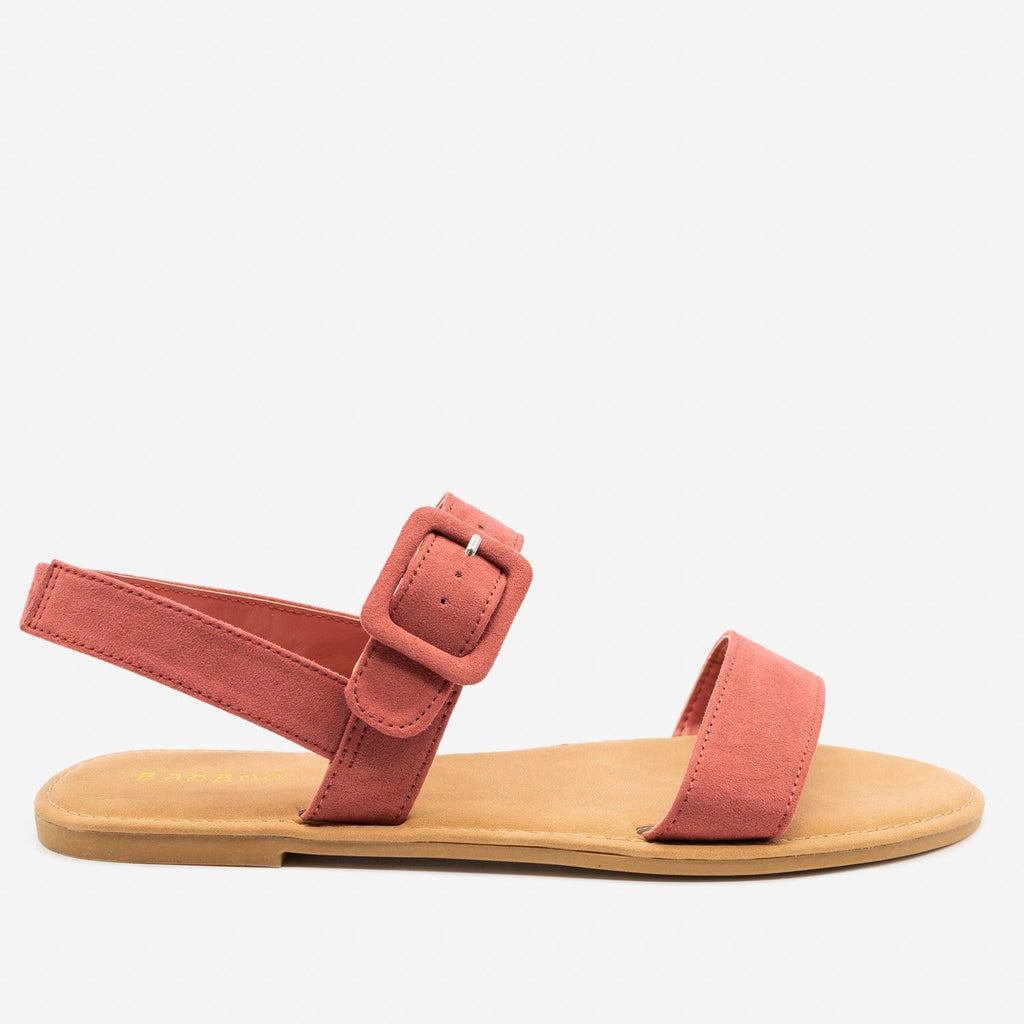 Women's Perfect Everyday Sandals - Bamboo Shoes - Dark Mauve / 5