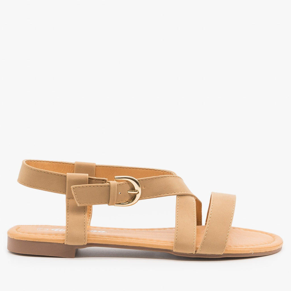 Women's Perfect Everyday Sandals - Weeboo - Taupe / 5