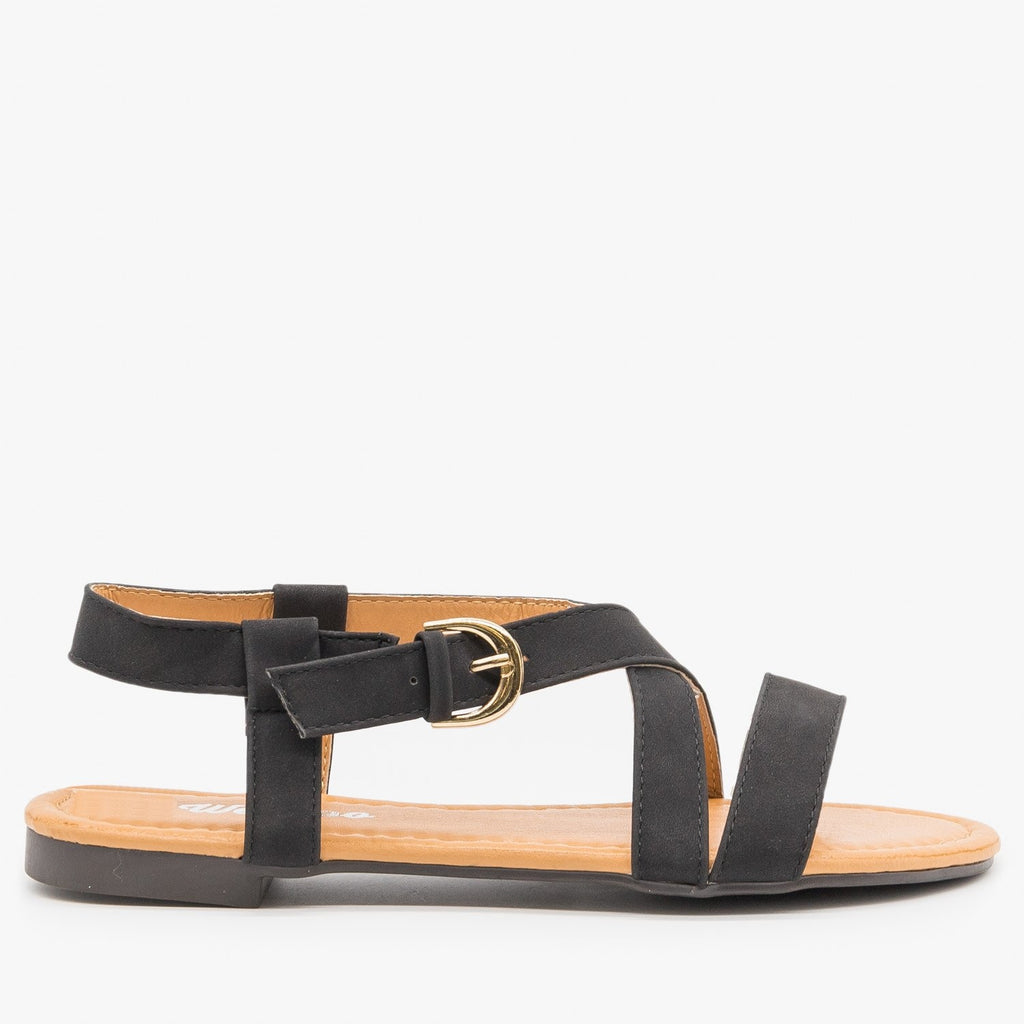 Women's Perfect Everyday Sandals - Weeboo - Black / 5