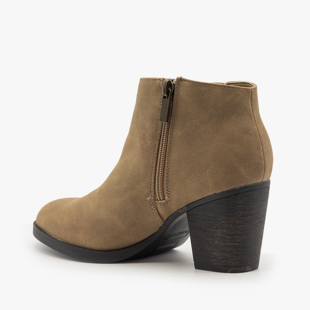 Womens Perfect Fall Booties - Bamboo Shoes