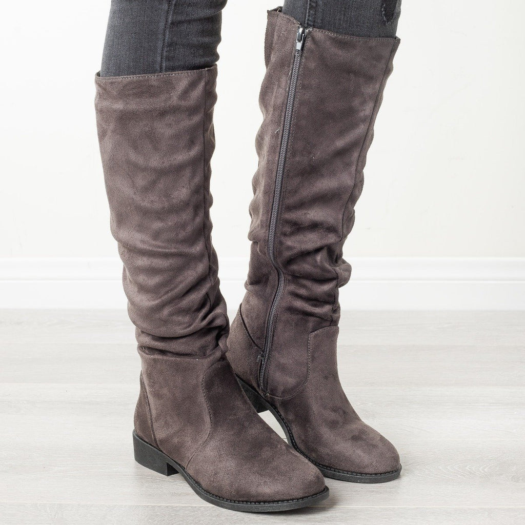 Womens Perfect Fall Fashion Boots - Qupid Shoes