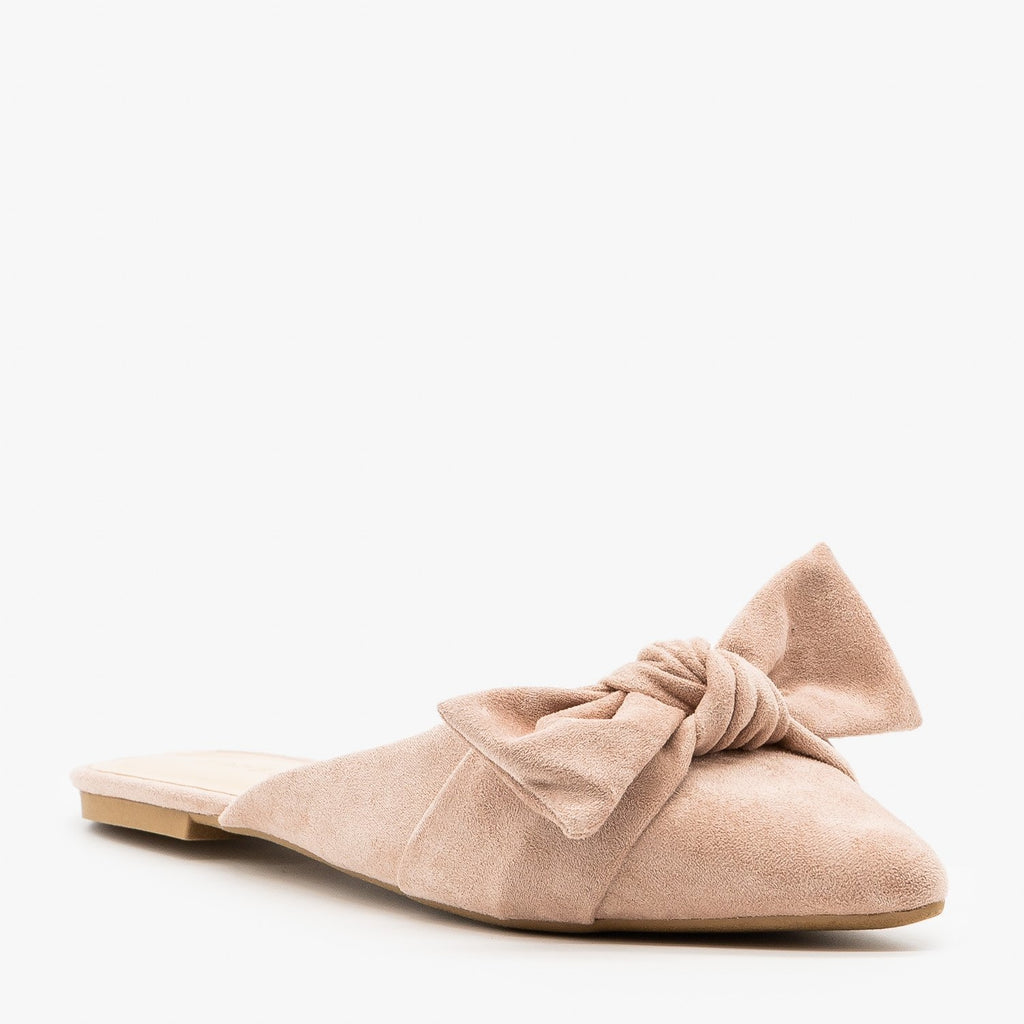Womens Perfect Pointed Toe Mules - Bamboo Shoes
