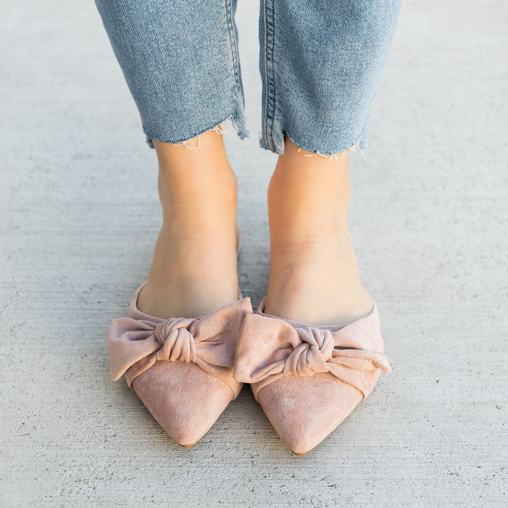 Women's Perfect Pointed Toe Mules - Bamboo Shoes