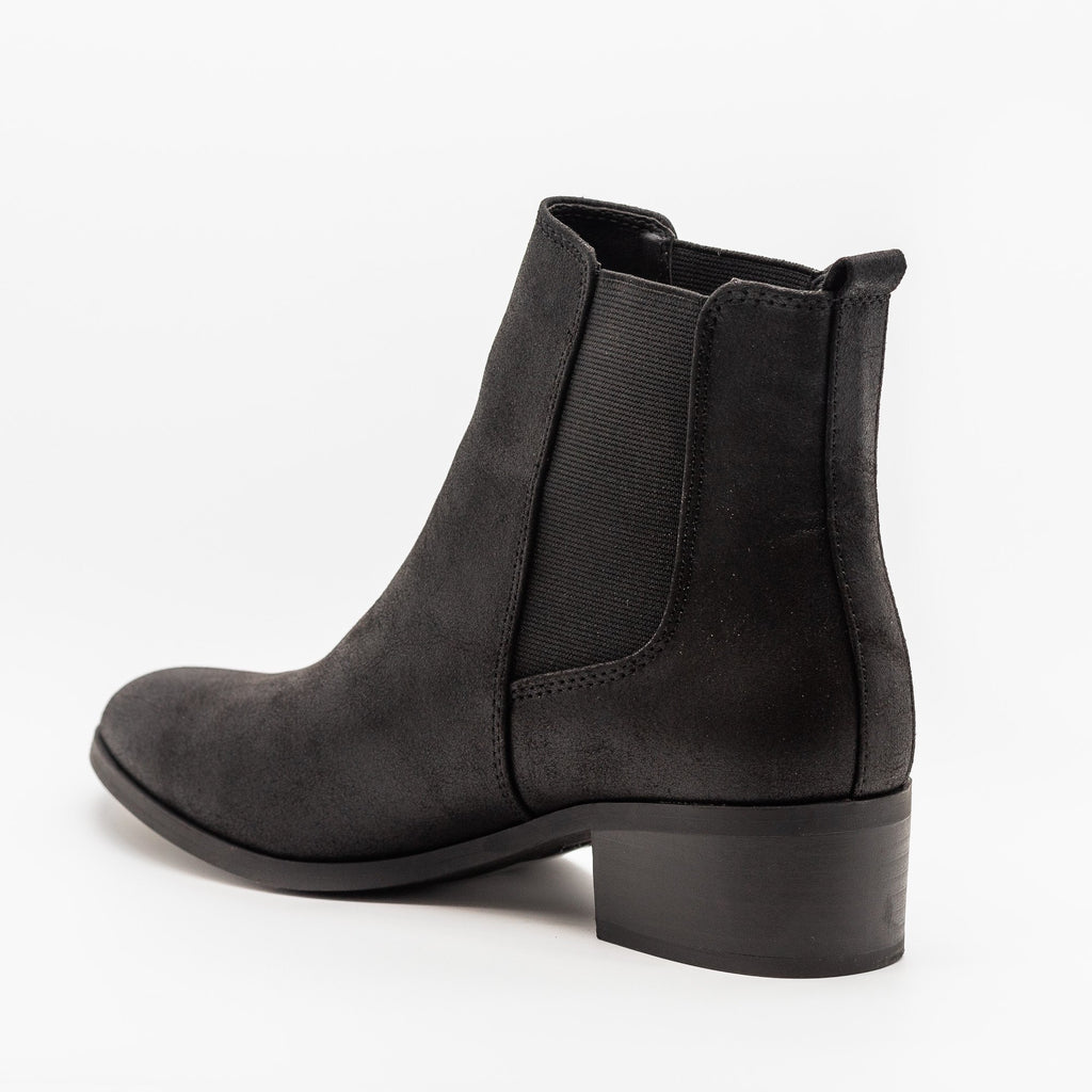 Womens Perfect Posh Chelsea Boots - Qupid Shoes