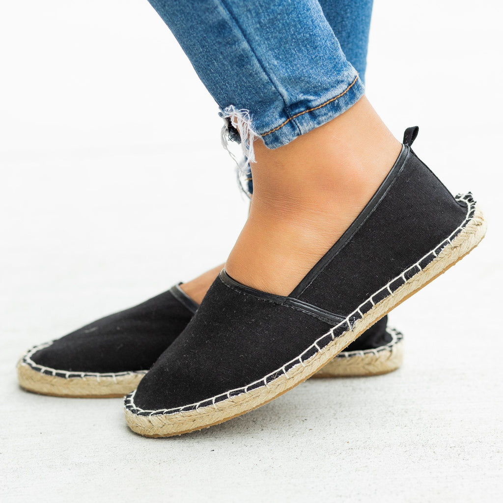 Womens Perfect Slip-On Espadrille Flats - Bucco