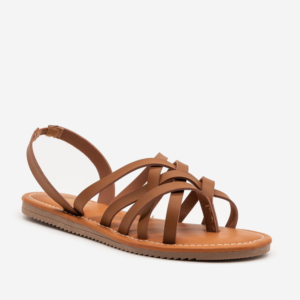 Women's Perfect Strappy Slingback Sandals - Forever