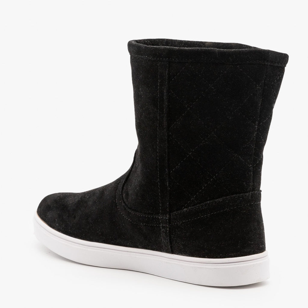 Womens Quilted Winter Boots - Refresh
