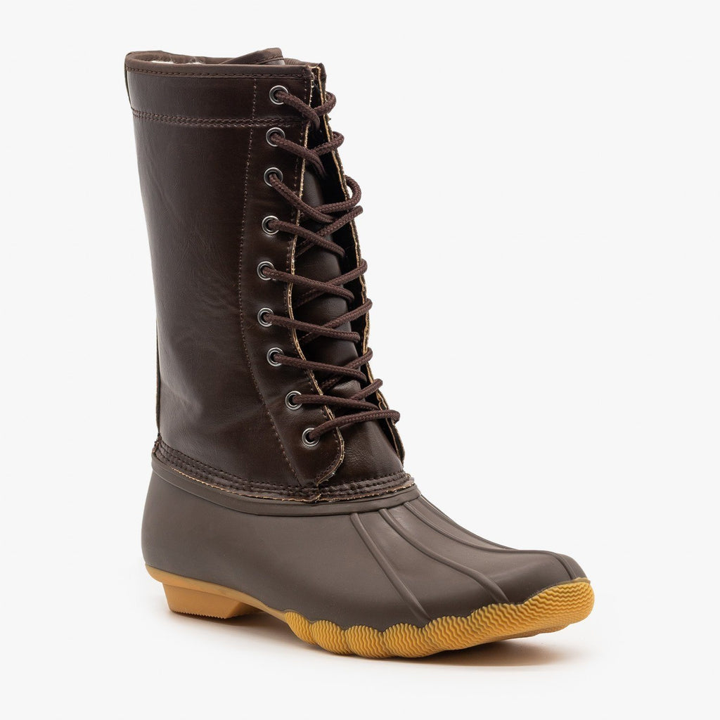 Womens Rainy Day Duck Boots - Refresh
