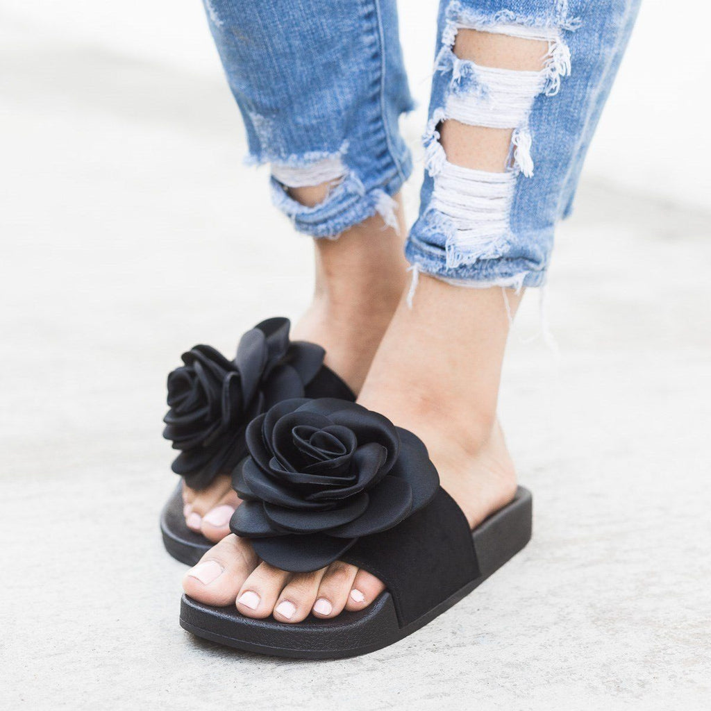Womens Rose Fashion Slides - Refresh