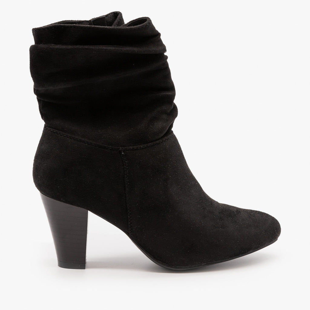 Womens Sassy Ankle Boots - Refresh - Mocha / 5
