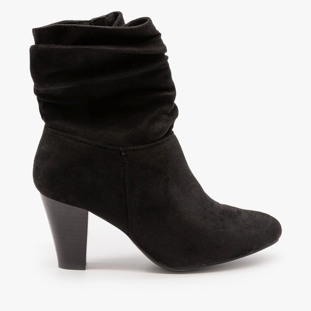 Womens Sassy Ankle Boots - Refresh - Black / 5