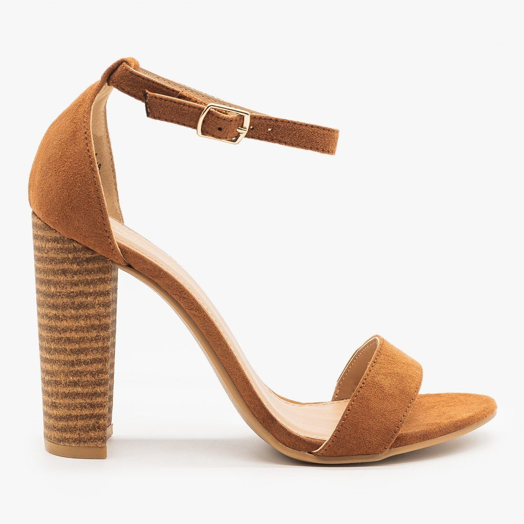 Womens Sassy Diva High Heels - Mark & Maddux - Camel / 5