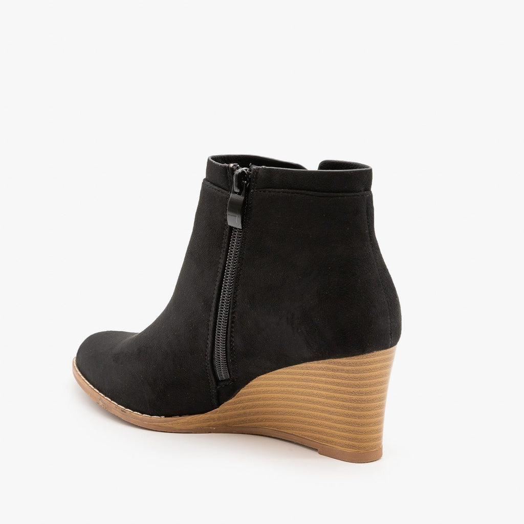 Womens Side Cut Wedges - Forever