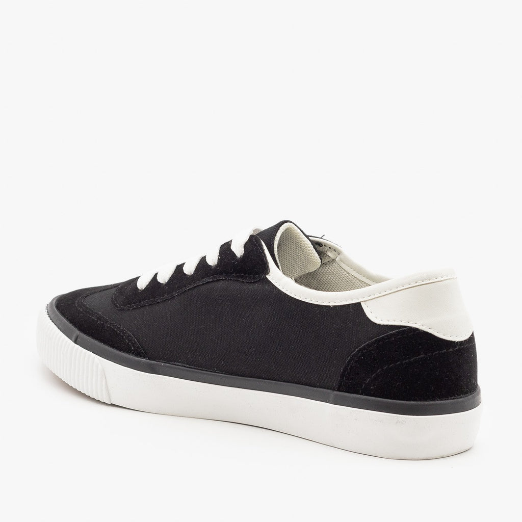 Womens Side Stripe Sneakers - Anna Shoes