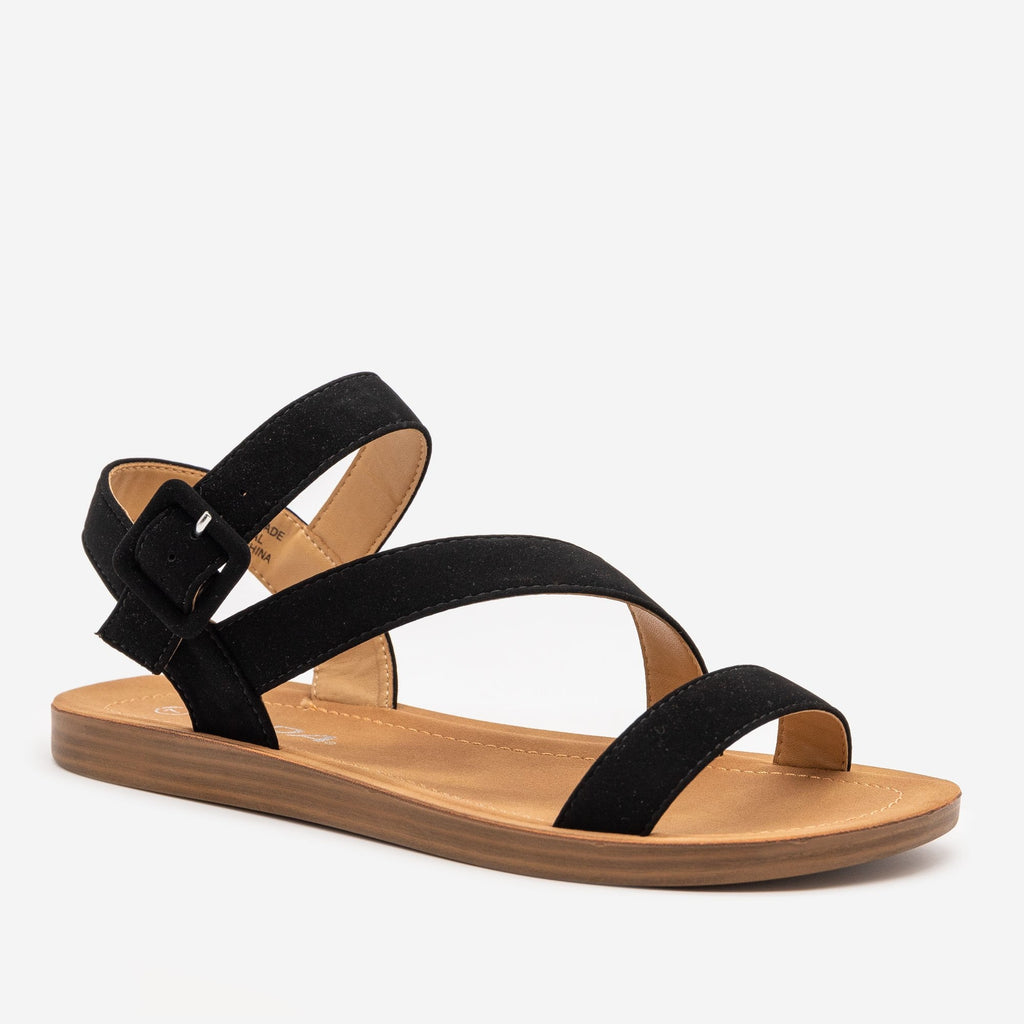 Women's Simple Every Day Strappy Sandal - Soda Shoes