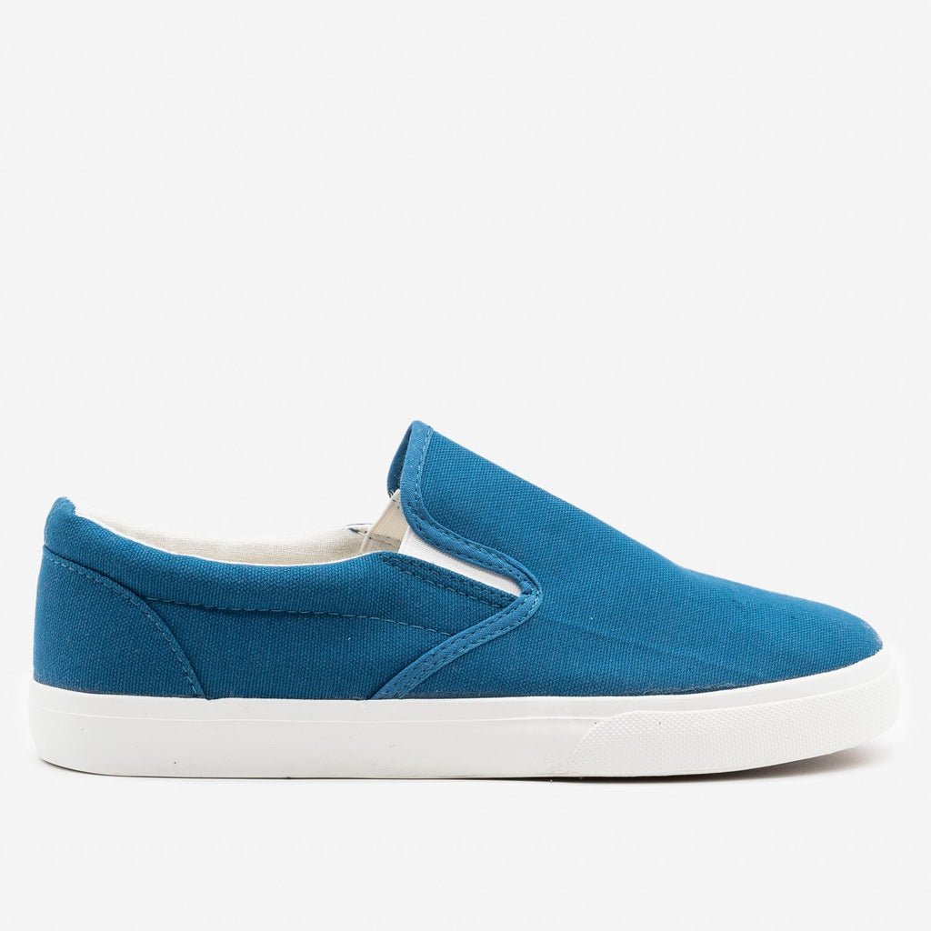 Women's Simple Slip on Sneaker - Nature Breeze - Navy / 5