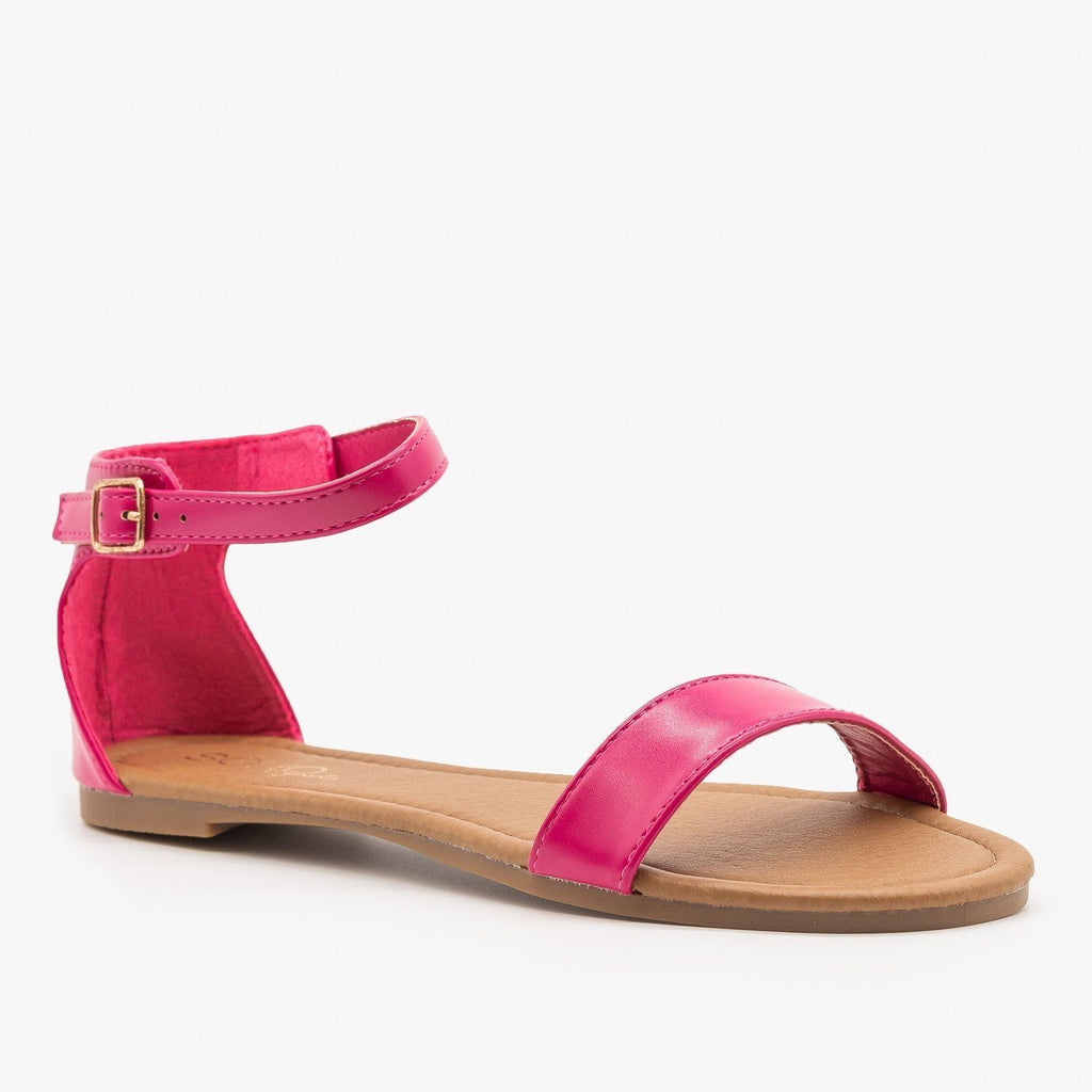 Womens Simple Summer Sandals - Soho Girls