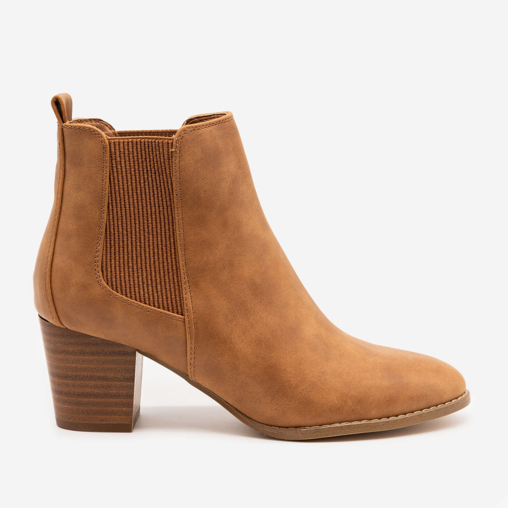 Women's Slip-on Everyday Booties - Novo Shoes