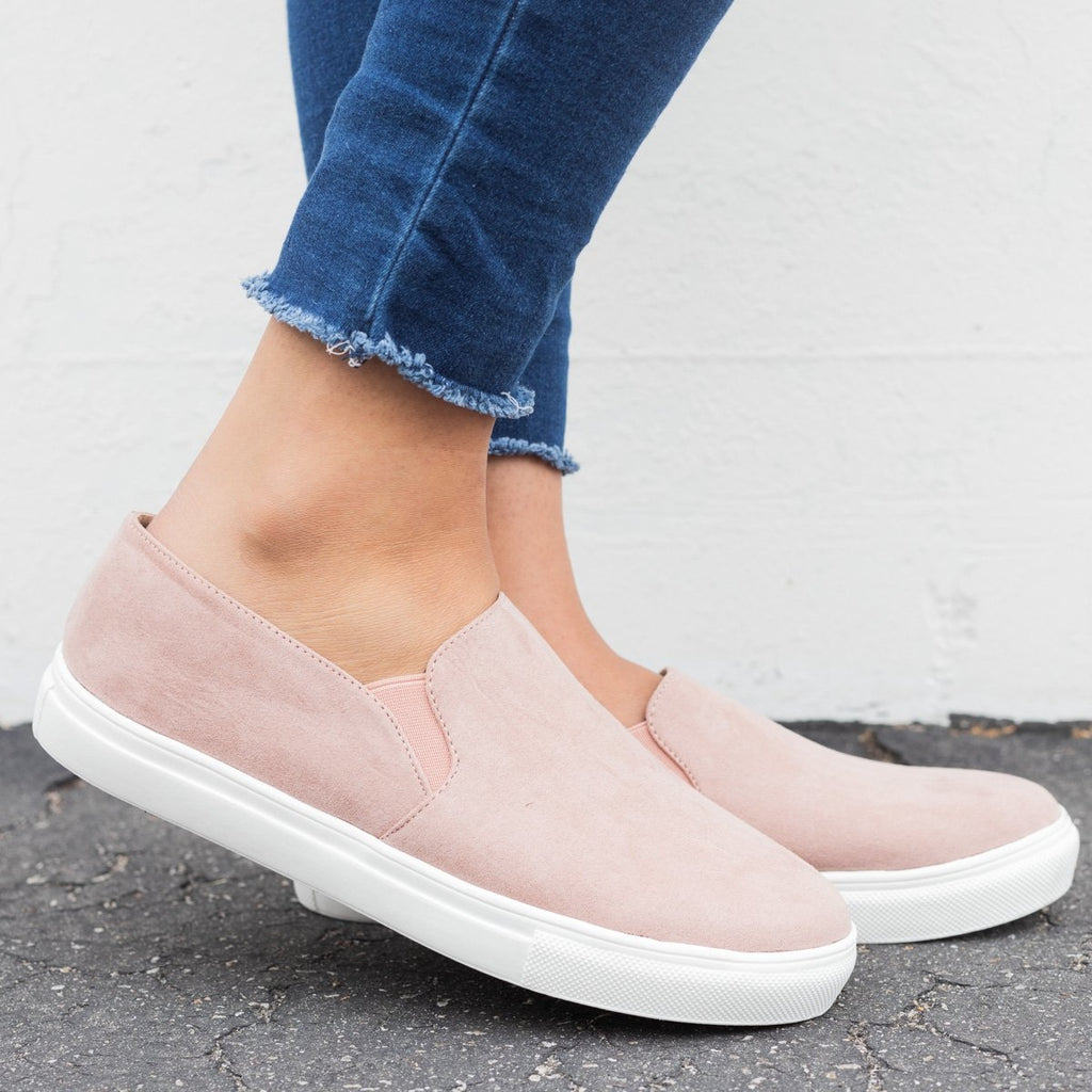 Slip-On Fashion Sneakers - Anna Shoes