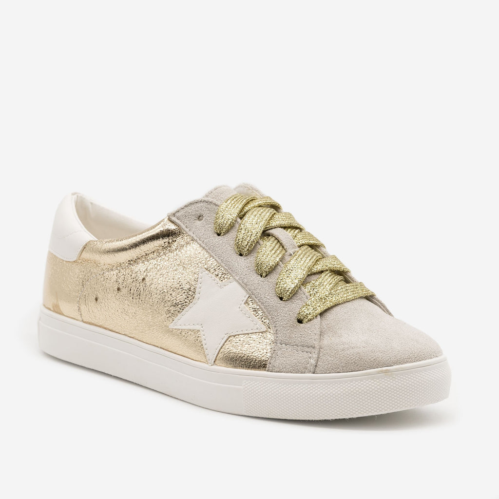 Women's Star Decal Fashion Sneakers - Forever