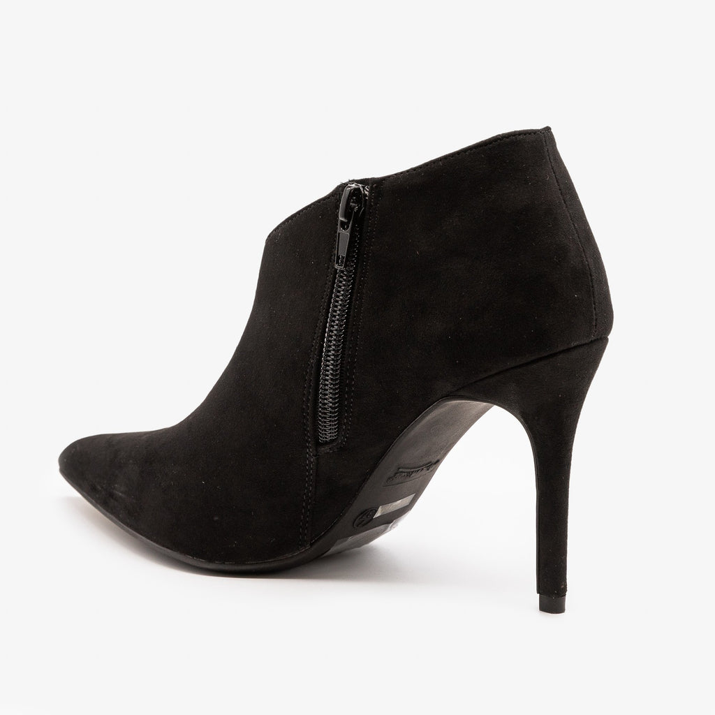 Womens Stiletto Ankle Booties - Anne Michelle