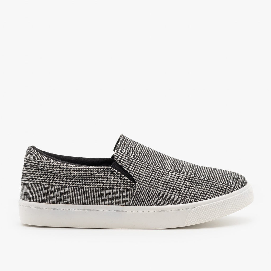 Womens Stylish Comfy Insole Slip-On Sneakers - Soda Shoes