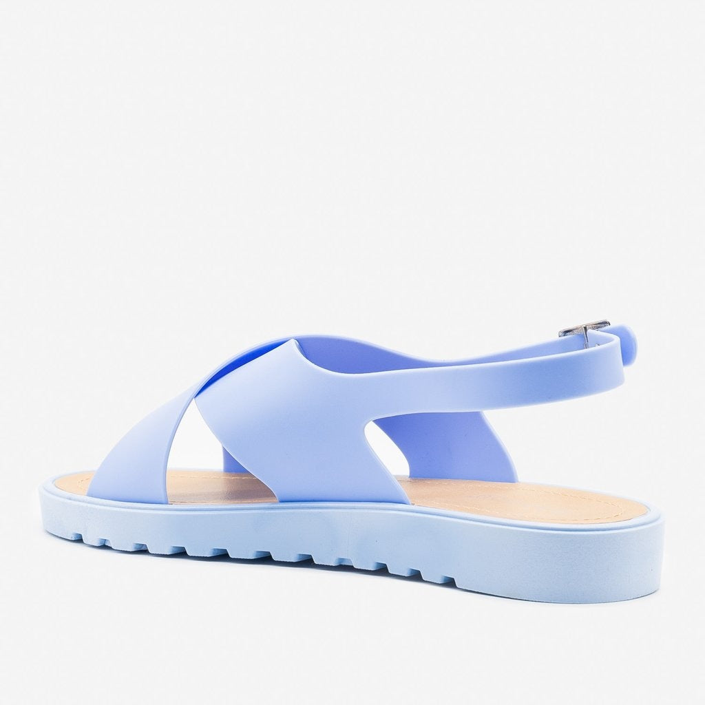 Women's Summer Chic Jelly Sandals - Bamboo Shoes