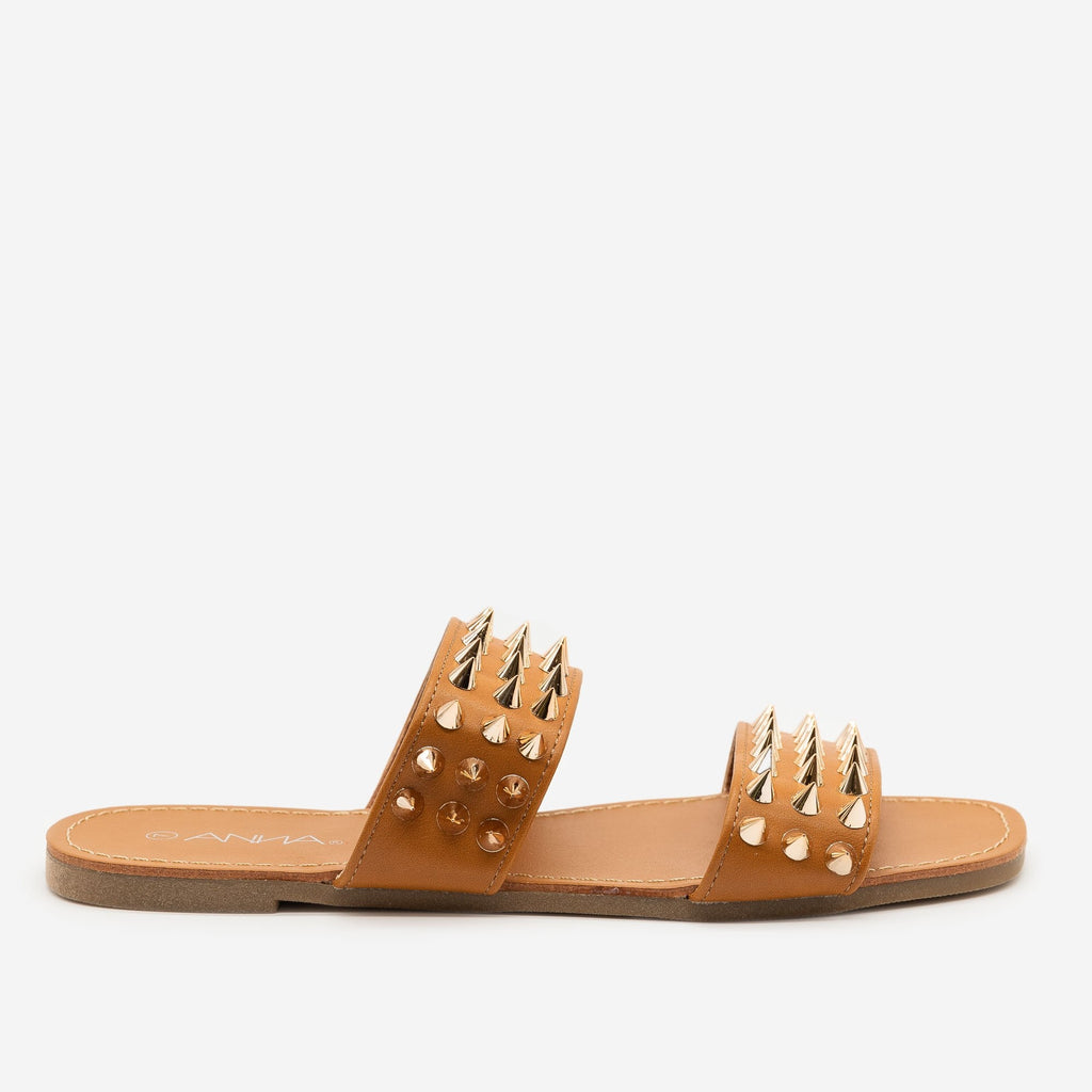 Women's Super Studded Summer Sandals - Anna Shoes