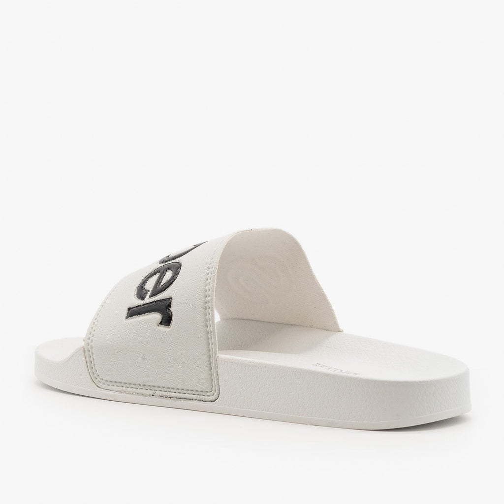 Womens Superstar Comfy Slides - Nature Breeze