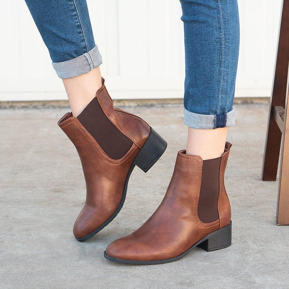 Women's Timeless Chelsea Boots - Refresh - Tan / 5