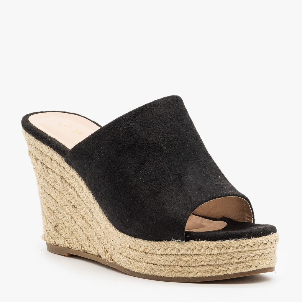 Womens Timeless Espadrille Wedges - Nature Breeze