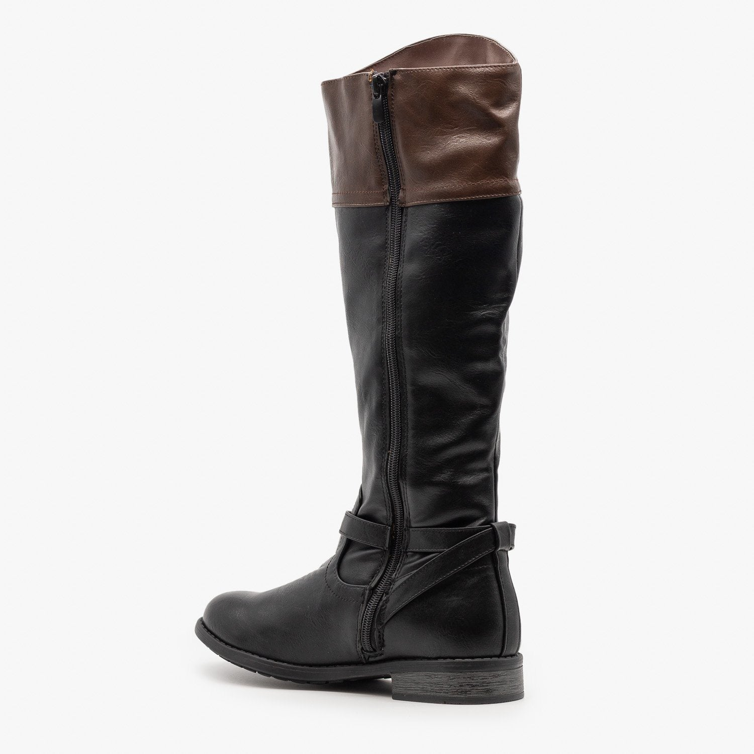 Wide Calf Riding Boots - Forever Shoes
